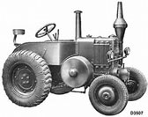 LANZ Tractor Model J
