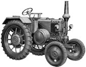 LANZ Tractor Model L