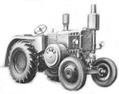LANZ Tractor Model S